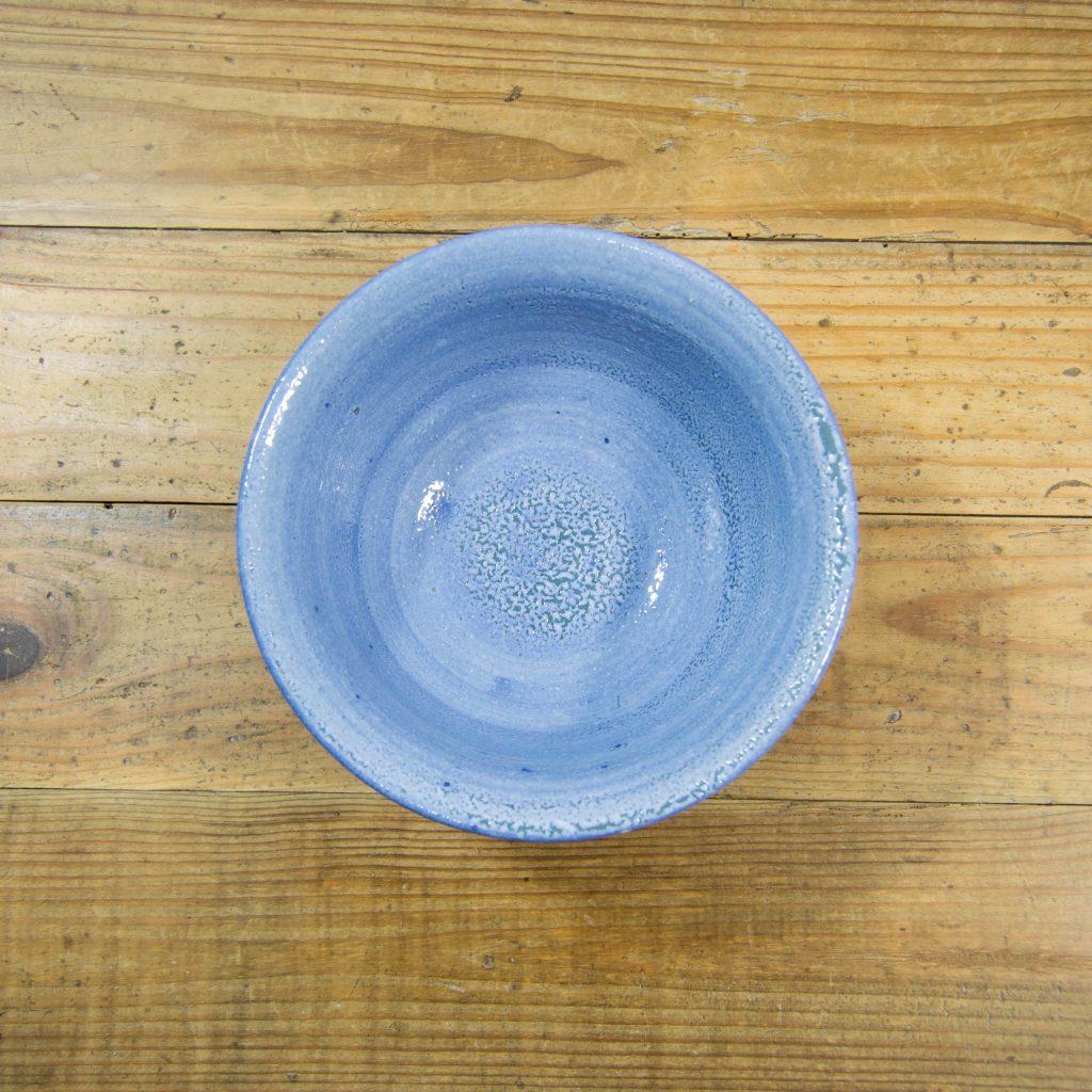 Cuenco de barro pequeño en color azul