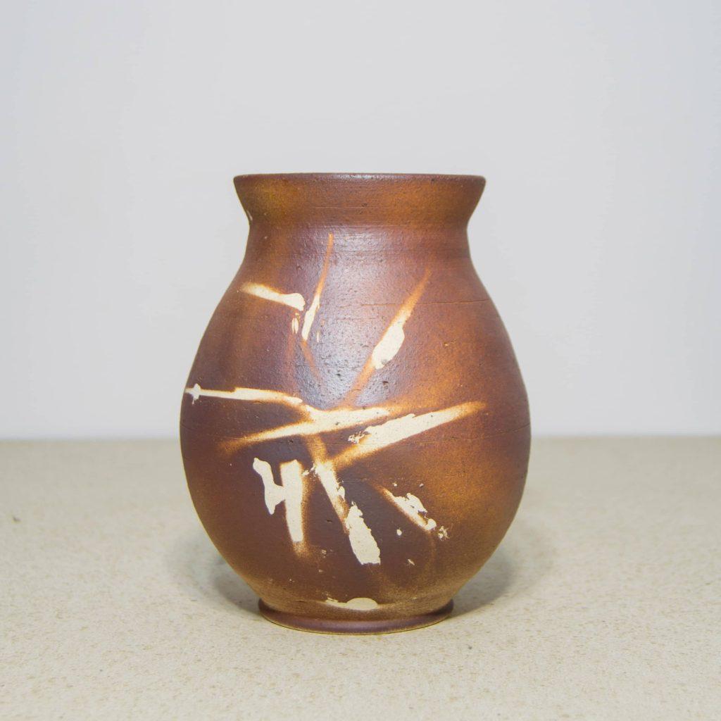 Jarrón de cerámica, pieza única. Hecho a mano, decoración del hogar y centros de mesa.
