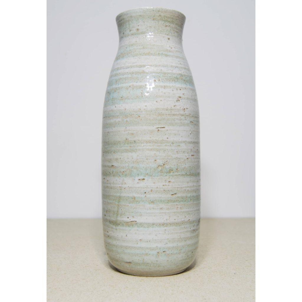 Jarrón de cerámica grande, pieza única. Hecho a mano, decoración del hogar